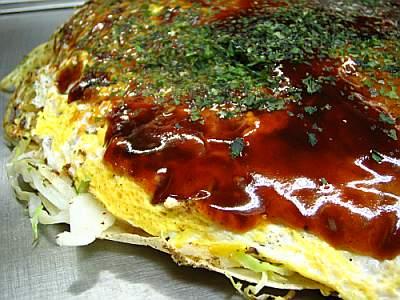 Okonomiyaki taken by y_katsuuu