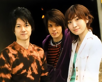 Maaya Sakamoto, Mamoru Miyano and Masaya Matsukaze - seiyuu from Ouran Host Club