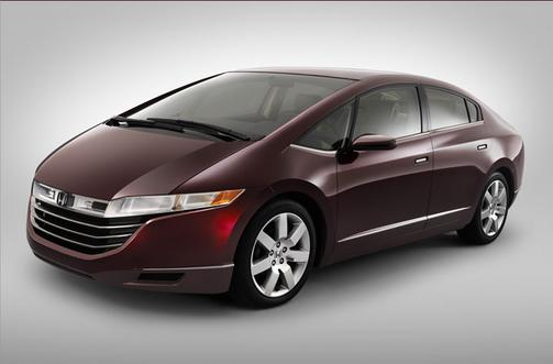 New Hydrogen Powered Car From Honda