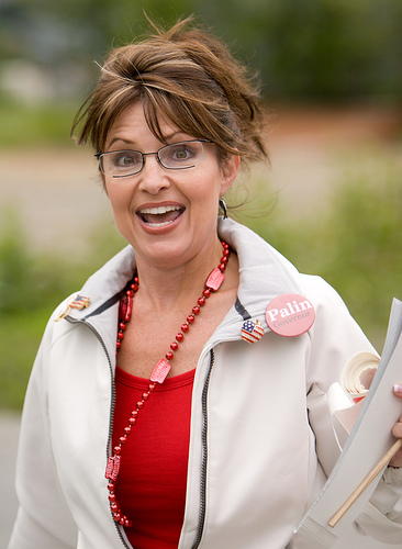 Japanese Designer Found A Model In Sarah Palin