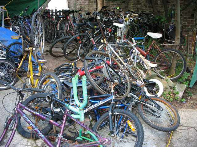 Secondhand Bikes, Anyone?