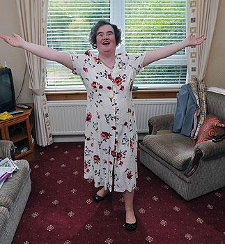 Susan Boyle Visits Japan