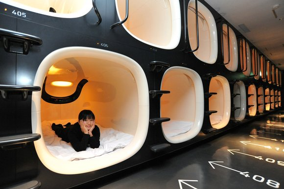 Capsule Hotels, a New Trend in Japan