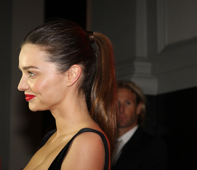 Australian Model Miranda Kerr Becomes a Geisha for Vogue Japan Cover