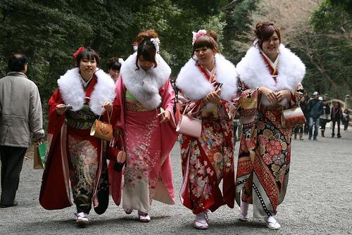 Seijinshiki: Rite of Passage for Japanese Girls