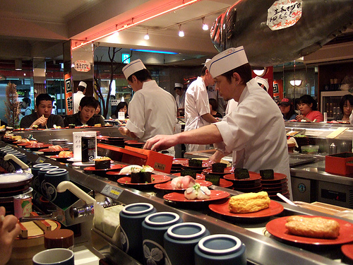 Image result for Kaiten sushi