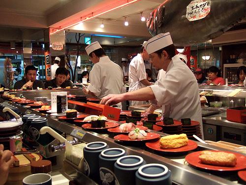 kaiten sushi restaurant