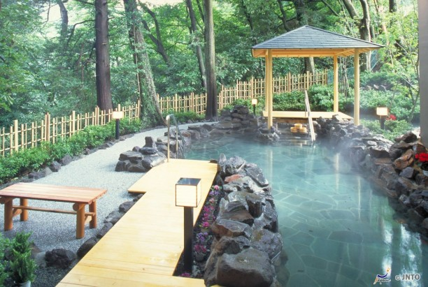 The Famous Hot Springs of Japan